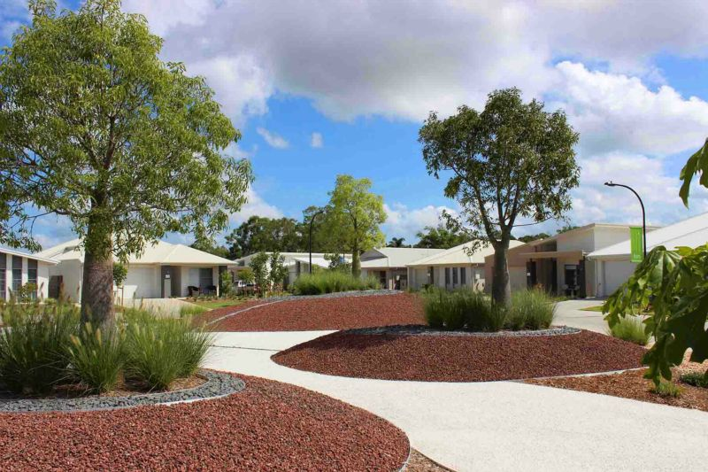 Landscaping Aged Care/Retirement Living: